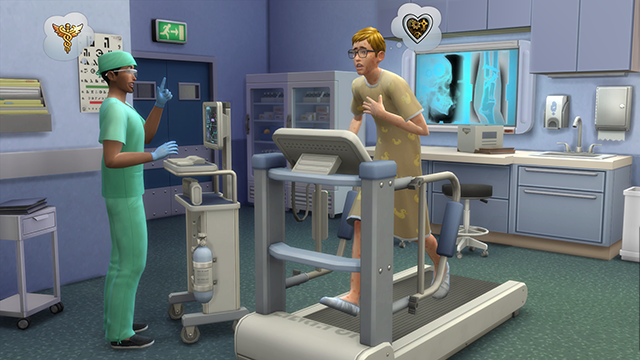 How To Get A Hospital Bed In The Sims