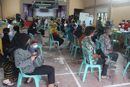 Kodim 0913/PPU Kembali Gelar Lamin Vaksinasi Kartika Dengan Sasaran Warga Bangun Mulya
