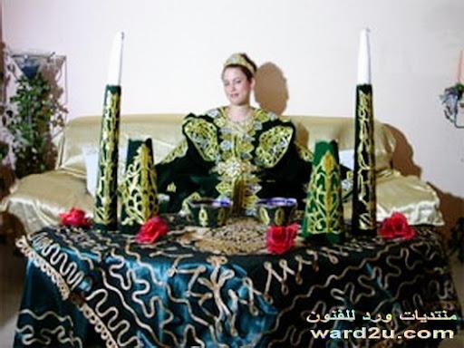 بعض تقاليد الأعراس المغربية