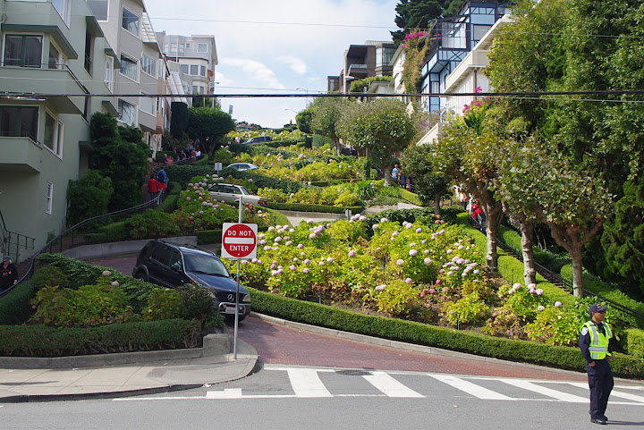 Calle Lombard, San Francisco