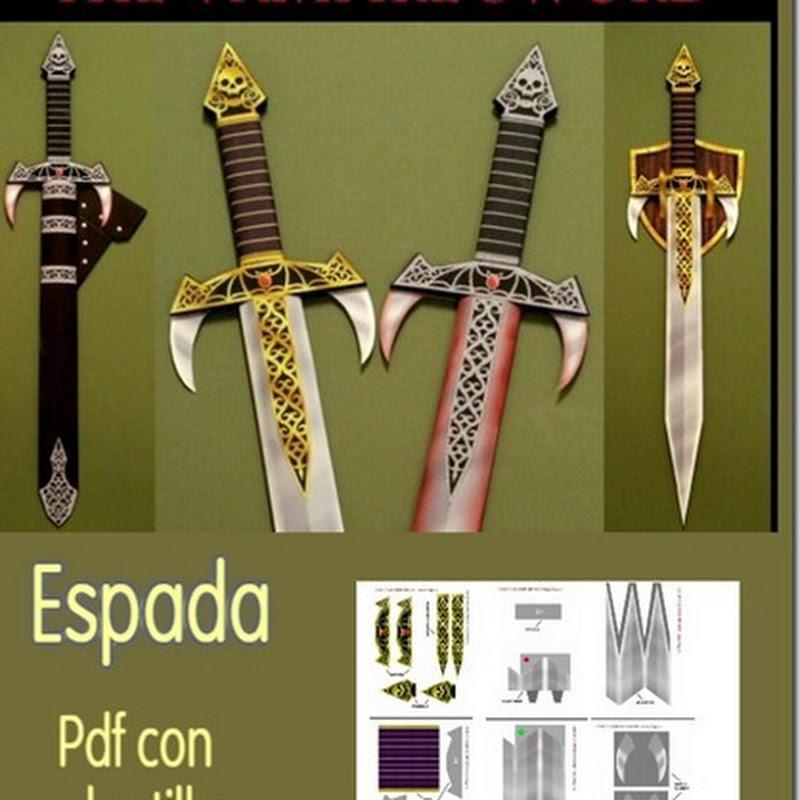 Plantillas espada para matar Vampiros