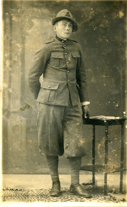 1928 - pino traversa militare - traversa antonio 1909