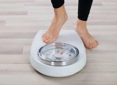 التعرق وفقدان الوزن