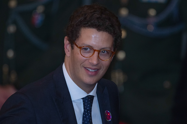 Brazil's environment minister, Ricardo Salles. Salles claims that Brazil owes nothing in the fight against global climate change and should be paid for its work so far. Photo: Andre Coelho / Bloomberg