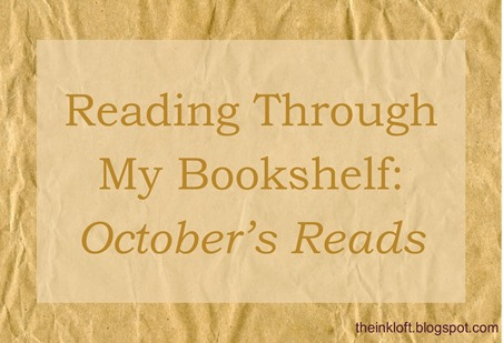Reading Through My Bookshelf October