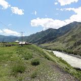 La Katun à Inya au sud de Yaloman. 8 juillet 2010. Photo : B. Lalanne-Cassou