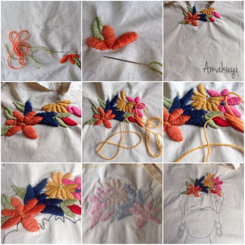 Tote-bag-bordado-mexicano-Flores-handmade