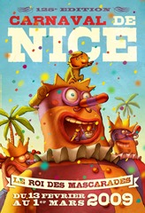 Carnaval de Nice affiche 2009