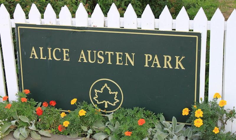 Sign Alice Austen Park Staten Island