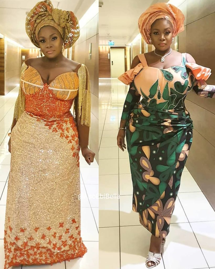 94 Edition Of #Ebfablook - 26 Chic and Trendy Aso Ebi Outfits And Styles For all time