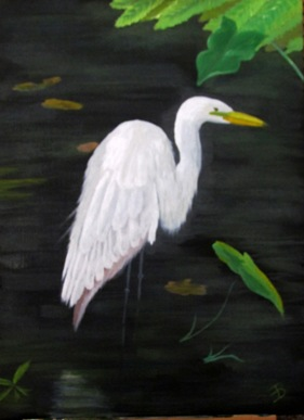 1603074 Mar 12 My Finished Egret