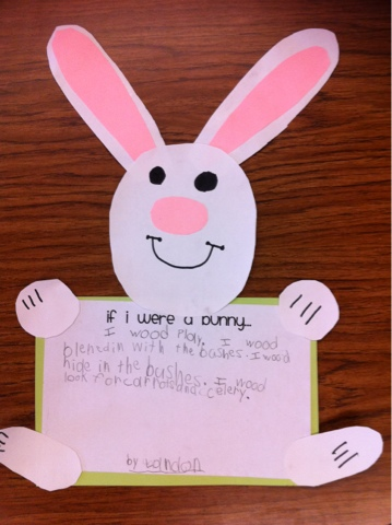 Passionate About Primary Easter Crafts For The First Graders