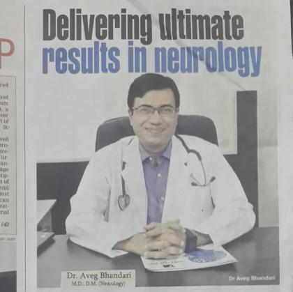 Dr  Aveg Bhandari Indore Neuro Centre, Indore - Under aegis