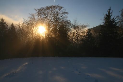Tesne po východe slnka