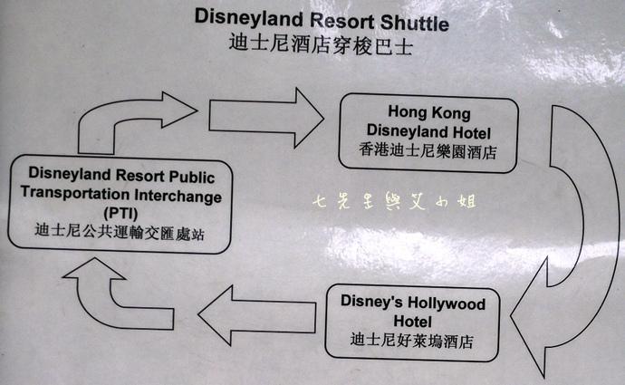 22 迪士尼酒店穿梭巴士