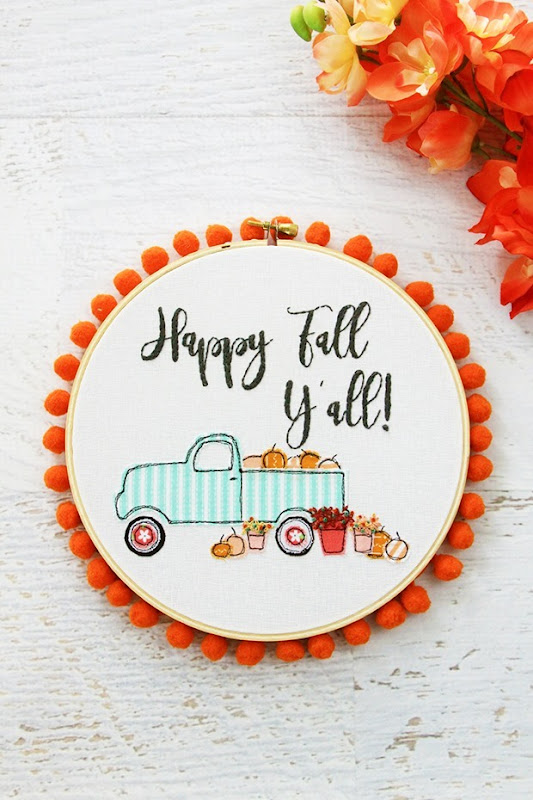 Happy-Fall-Yall-Embroidery-Hoop