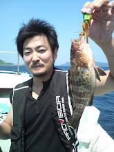 Photo: ほれ! キャッチじゃ!
