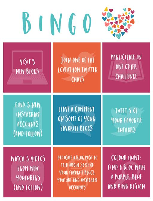 Loveathon bingo