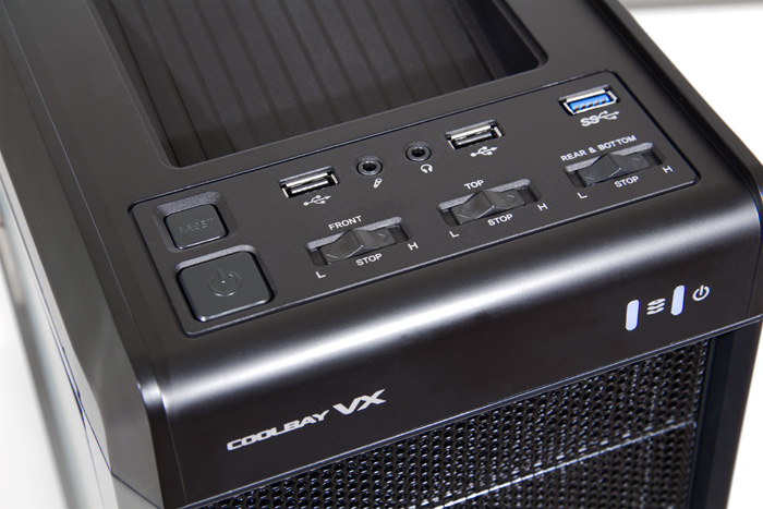 NOX Caja Semitorre ATX Coolbay VX