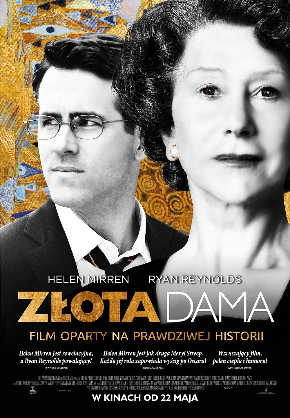 Polski plakat filmu 'Złota Dama'