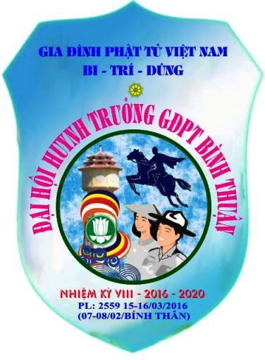 Đại Hội Huynh Trưởng GĐPT Bình Thuận NK 2016-2020