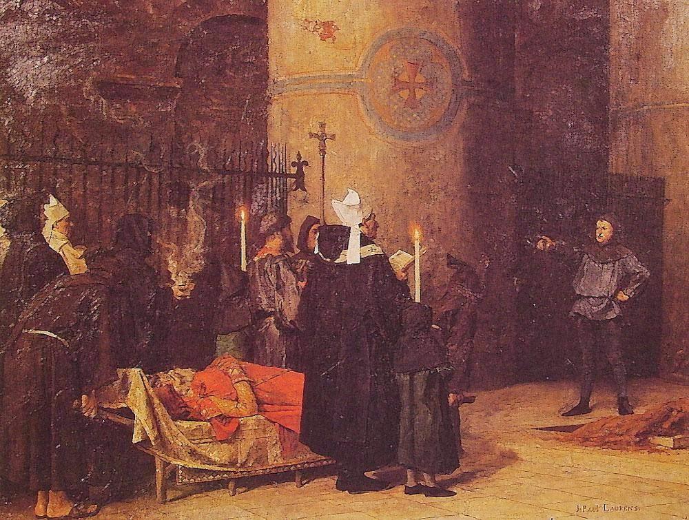 Jean-Paul Laurens - Funeral of William the Conqueror