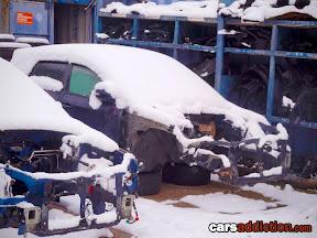 Latest Subaru Impreza GE chassis breaking