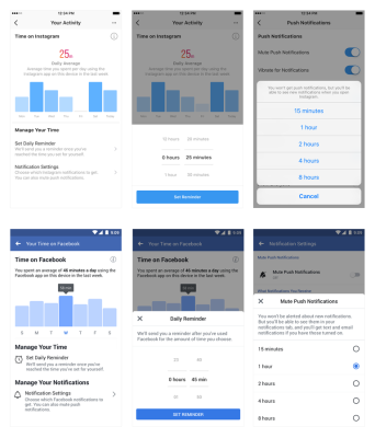 Facebook Announced Upcoming Tools To Help Manage Your Time On Facebook and Instagram (Updated)