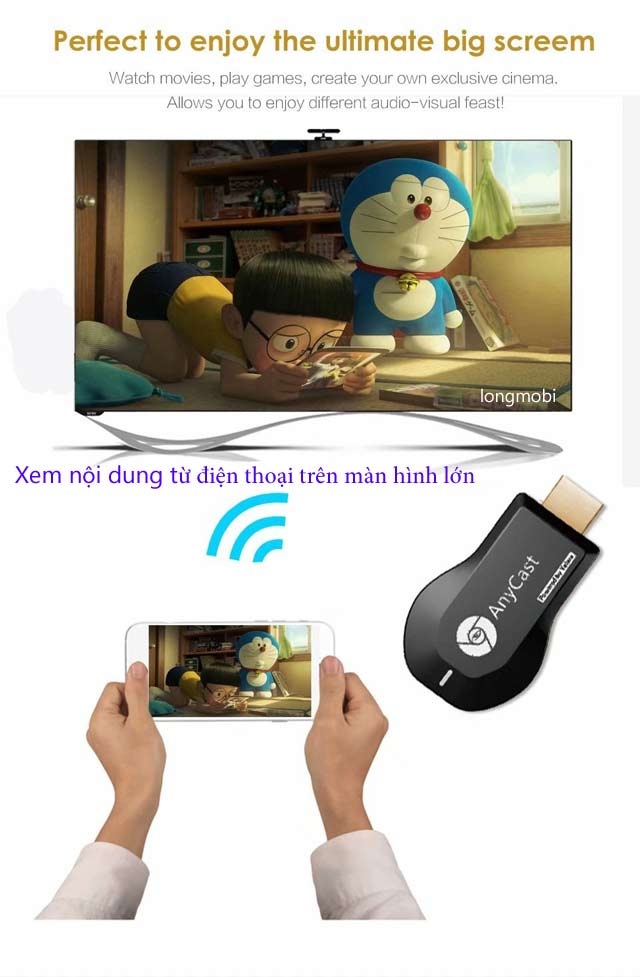 hdmi khong day anycast m9 plus