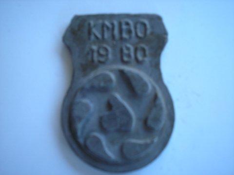 Naam: KMBOPlaats: in de prov.Jaartal: 1980