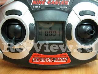 Пульт управления EZ-BIND четырехканальным радиоуправляемым вертолетом Nine Eagles