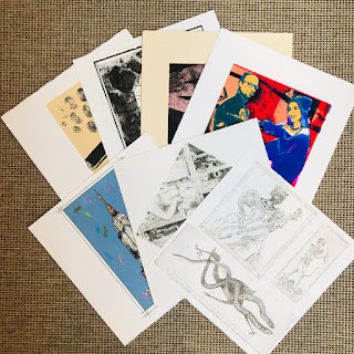 Folio of 17 Signed Original Prints