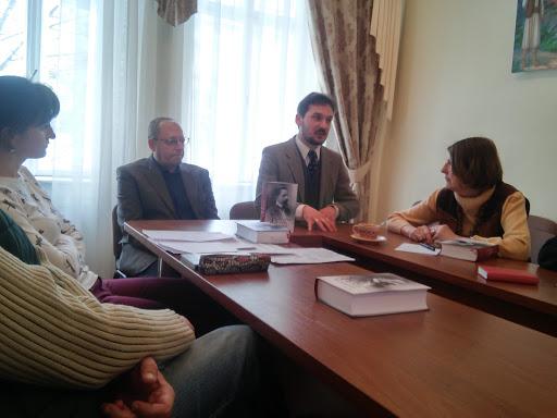 Презентація книжки «Муза і чин Остапа Луцького»