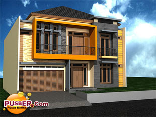 Model rumah minimalis tipe 60 - pusber.com