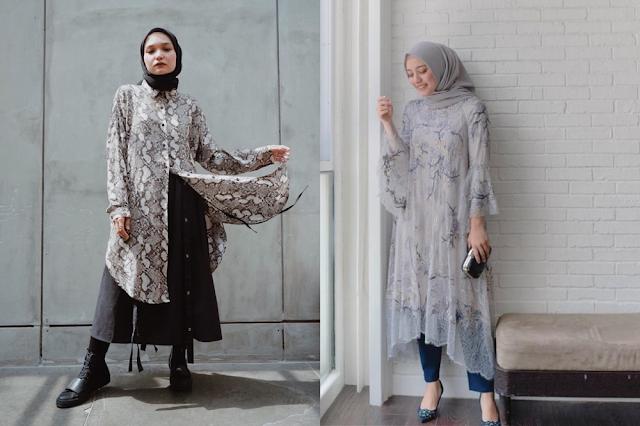 Model Baju Tunik Terbaru 2021 untuk Wanita Berhijab