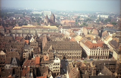 1986.08.11-061.05 vue sur Strasbourg