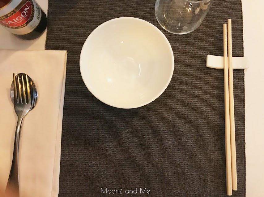 restaurante vietnamita en Madrid, calle Huertas