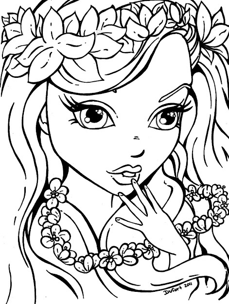 Girls Coloring Pages Free Free Girls Coloring Pages Printable Coloring  Pictures