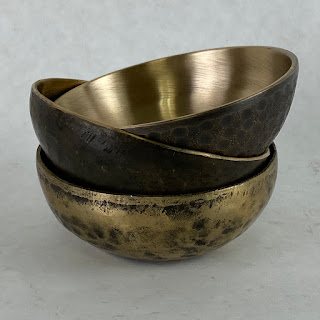 This Co. NEW Bronze Set of 3 Bowls