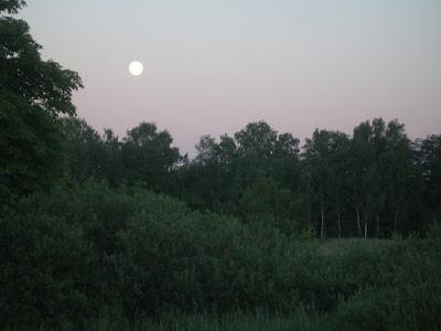 Mond �bern Wernsdorfer See