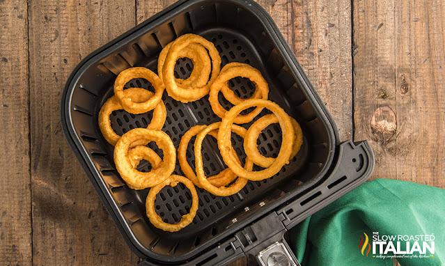 onion rings in air fryer