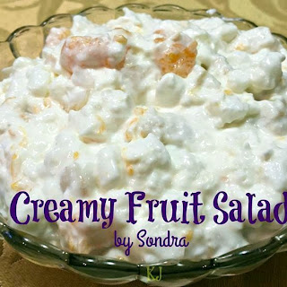 Creamy Fruit Salad.