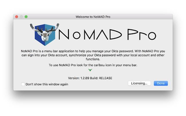 NoMAD Pro Okta