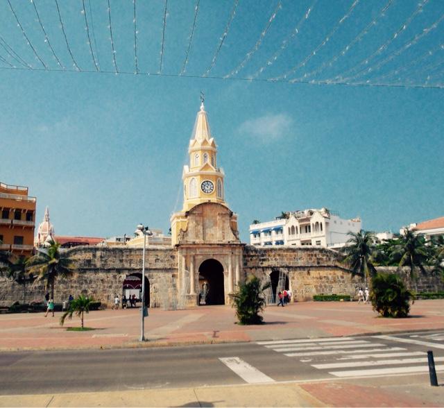 Cartagena clock town