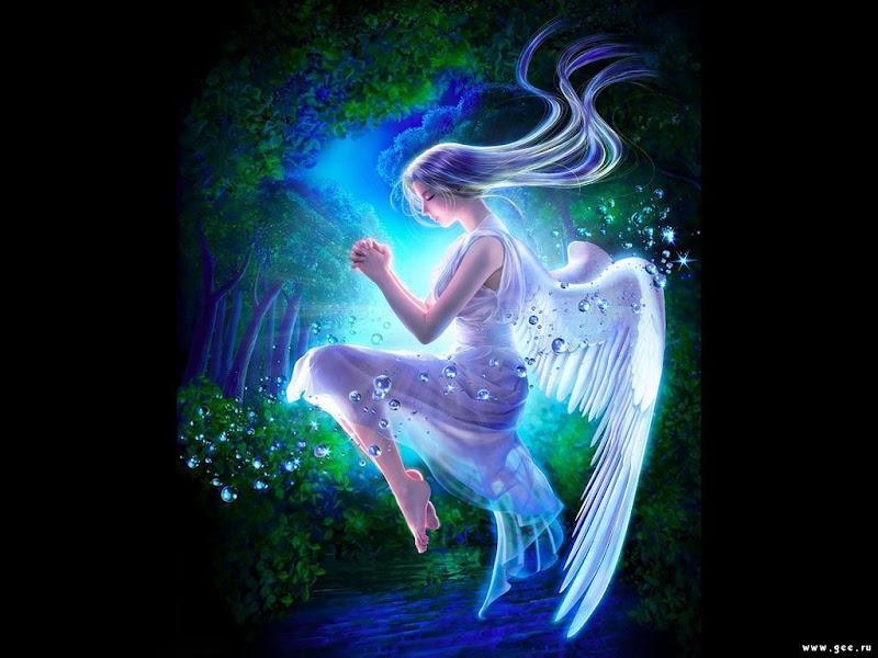 Beautiful Angel Of Wizdom, Angels