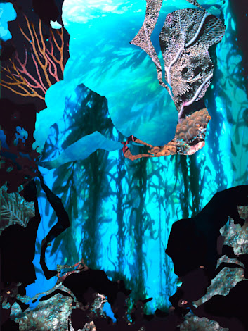 """The """"Ocean Fragments"""" piece from the """"2013"""" collection"""