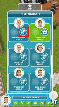 Sims FreePlay - Have 2 Sims in the same house