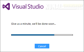 Visual Studio 2017 Installation Bootstrapper Preparation (www.kunal-chowdhury.com)