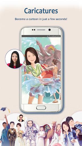 MomentCam Cartoons & Stickers screenshot 6