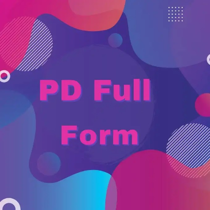 PD full form in Hindi - all full forms